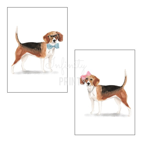A4 Print - Beagle Collection